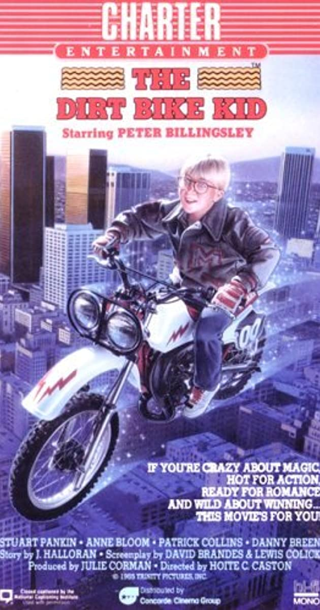 The Dirt Bike Kid 1985 Imdb