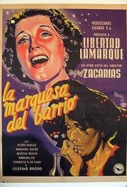 La marquesa del barrio Poster