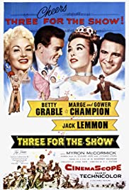 Three for the Show (1955) Poster - Movie Forum, Cast, Reviews