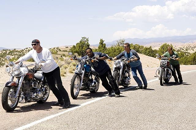 John Travolta, William H. Macy, Tim Allen, and Martin Lawrence in Wild Hogs (2007)