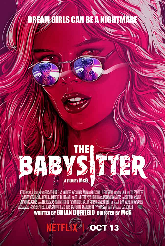 The Babysitter 2017 English Movie 720p WEB-DL full movie watch online freee download at movies365.org