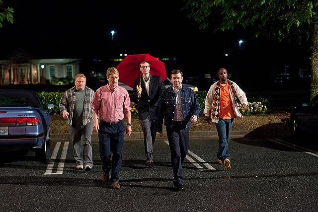 Owen Wilson, Larry Joe Campbell, Stephen Merchant, Jason Sudeikis, and J.B. Smoove in Hall Pass (2011)