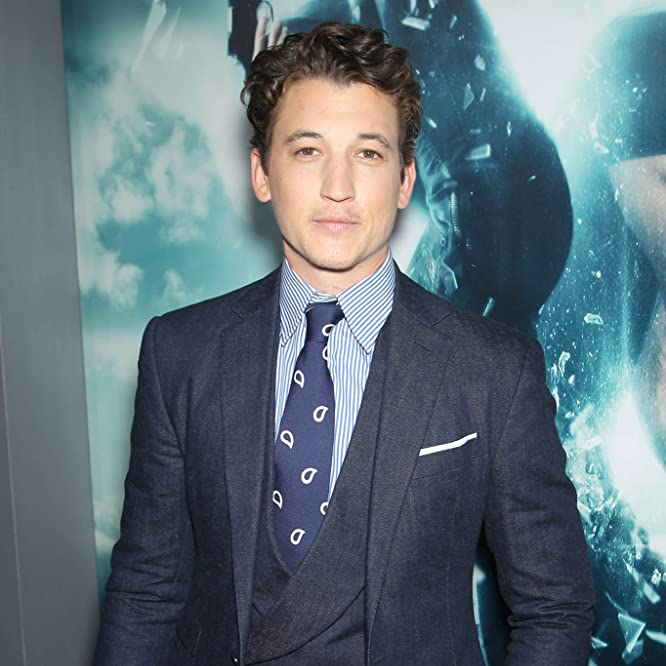 Miles Teller at an event for Insurgent (2015)