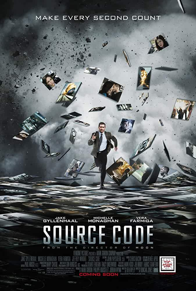 Poster Source Code 2011 Full HD Movie Download Dual Audio Free