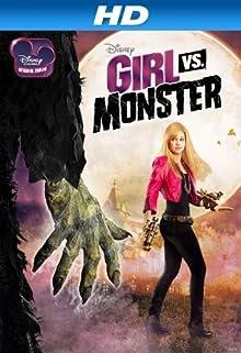 Poster Monster gegen Mädchen