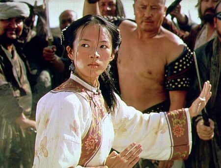 Ziyi Zhang in Crouching Tiger, Hidden Dragon (2000)