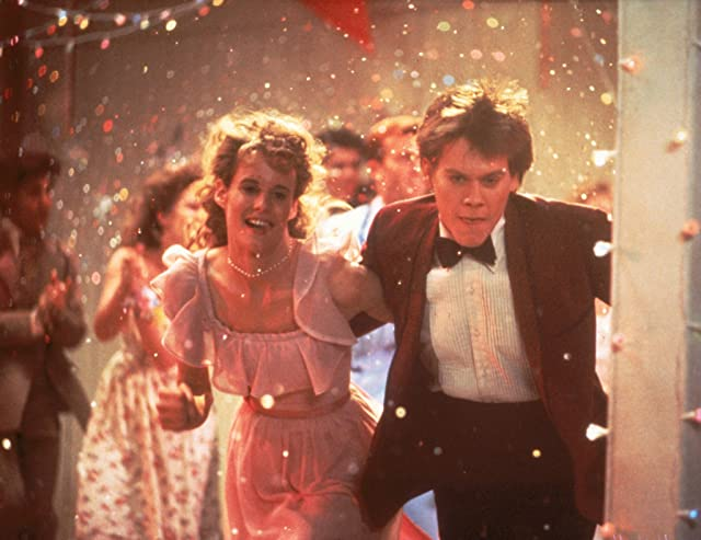 Kevin Bacon and Lori Singer in Footloose (1984)