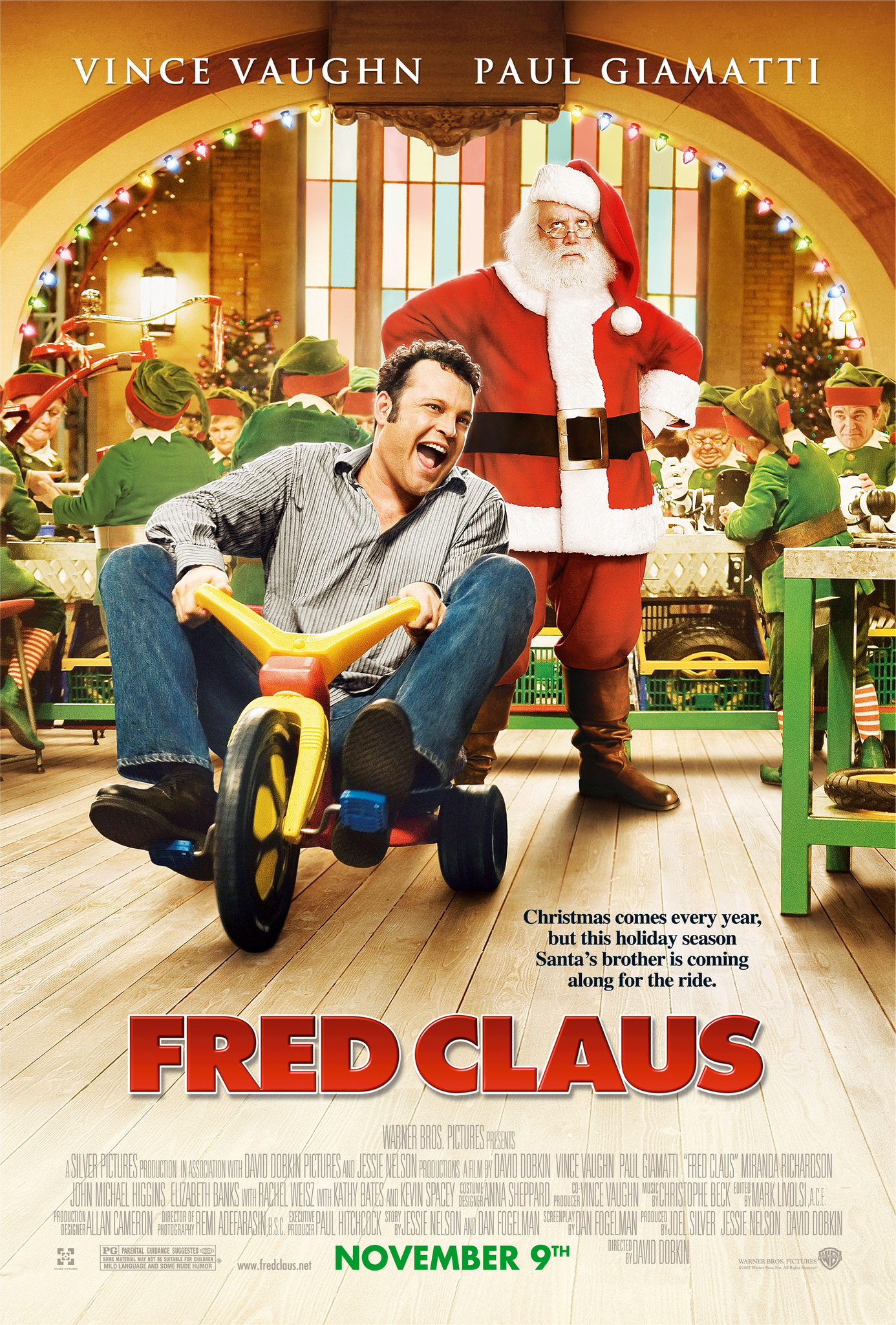 image Fred Claus Watch Full Movie Free Online