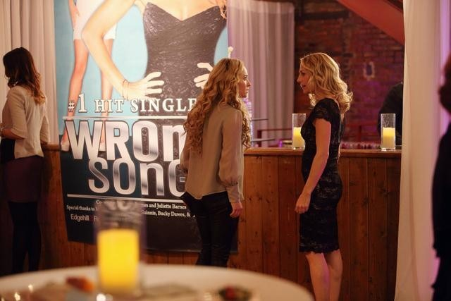 Hayden Panettiere and Sylvia Jefferies in Nashville (2012)