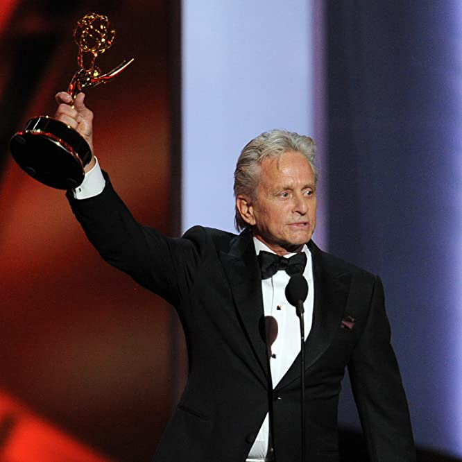 Michael Douglas at an event for The 65th Primetime Emmy Awards (2013)