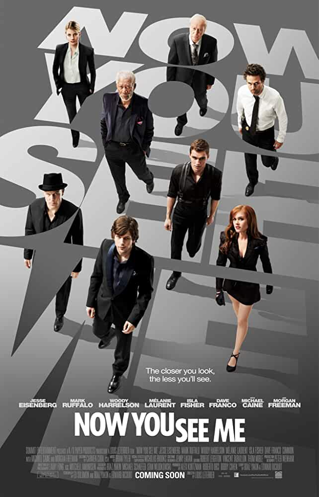 Poster Now You See Me (2013) Full HD Movie Download Dual Audio Hindi Free