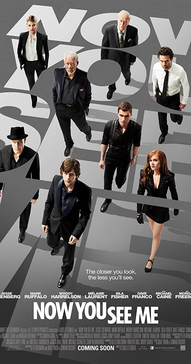 Now You See Me Cast