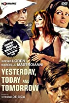 Yesterday, Today and Tomorrow (1963) Poster