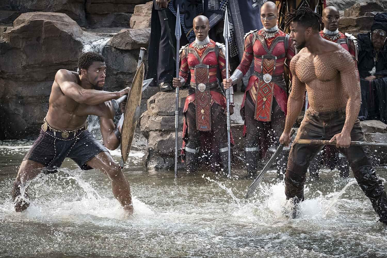 Black Panther English Movie 2018