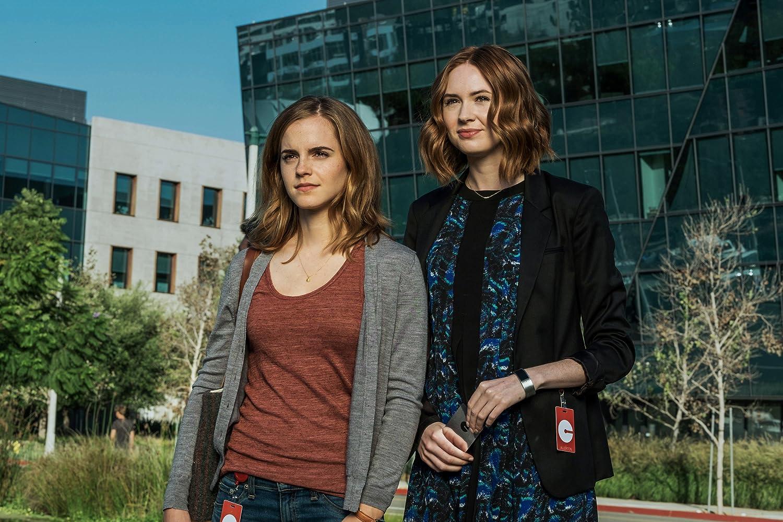 Emma Watson and Karen Gillan in The Circle (2017)
