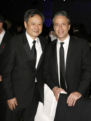 Ang Lee and Jon Stewart at an event for The 78th Annual Academy Awards (2006)
