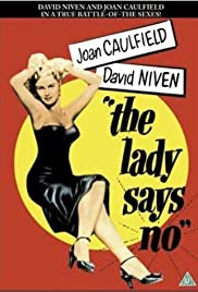 The Lady Says No Poster