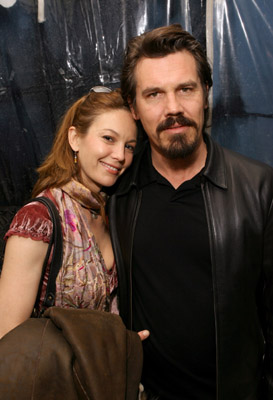 Diane Lane and Josh Brolin at Crash (2004)