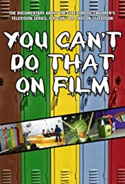 You Can't Do That on Film Poster