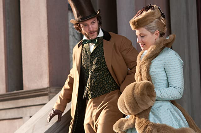 Kyle Schmid and Anastasia Griffith in Copper (2012)