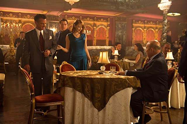 Sean Penn, Holt McCallany, Jon Polito, and Emma Stone in Gangster Squad (2013)