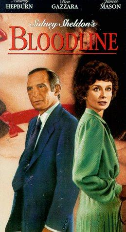 Audrey Hepburn and Ben Gazzara in Bloodline (1979)