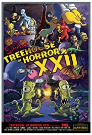Treehouse of Horror XXII Poster