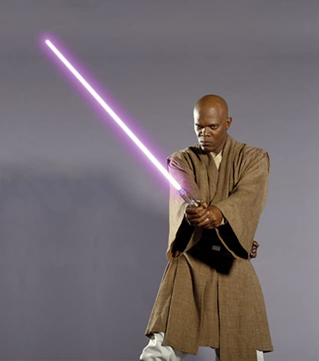 Samuel L. Jackson in Star Wars: Episode II - Attack of the Clones (2002)