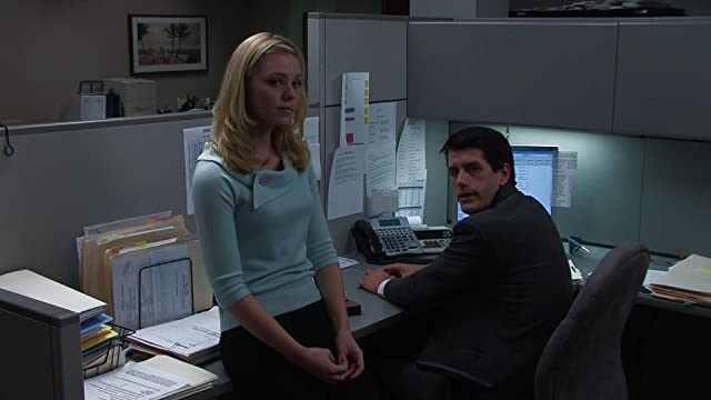 Kaitlyn Black as Patricia and Jack Robinson as Roger in