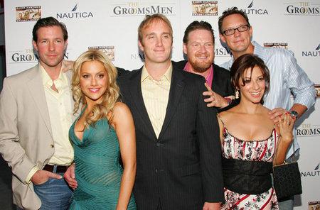 Matthew Lillard, Jay Mohr, Brittany Murphy, Donal Logue, Shari Albert, and Edward Burns in The Groomsmen (2006)