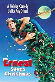 Ernest Saves Christmas Poster