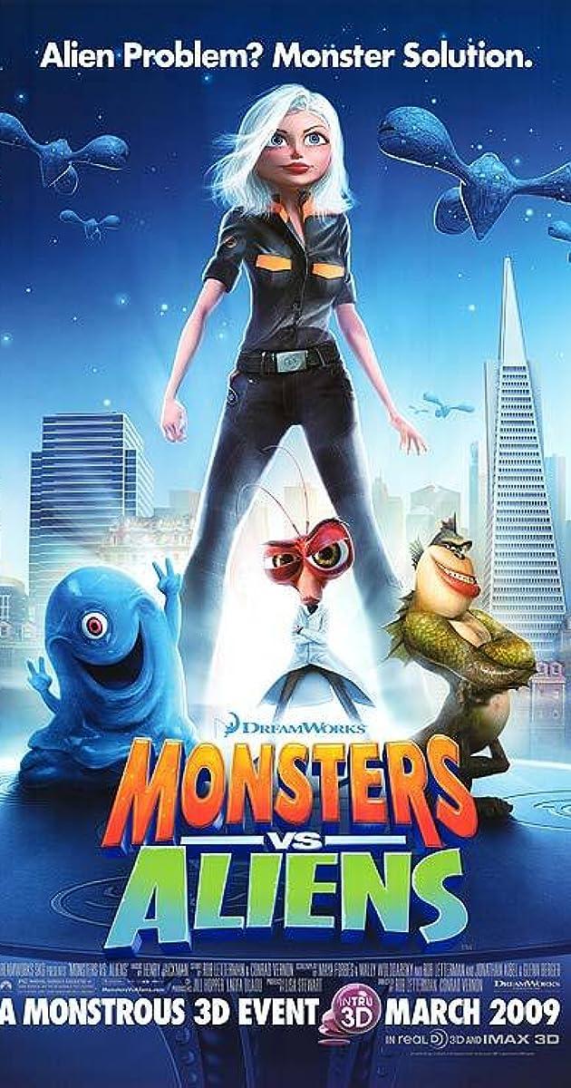 Resultado de imagen para Monstruos vs Aliens (2009)