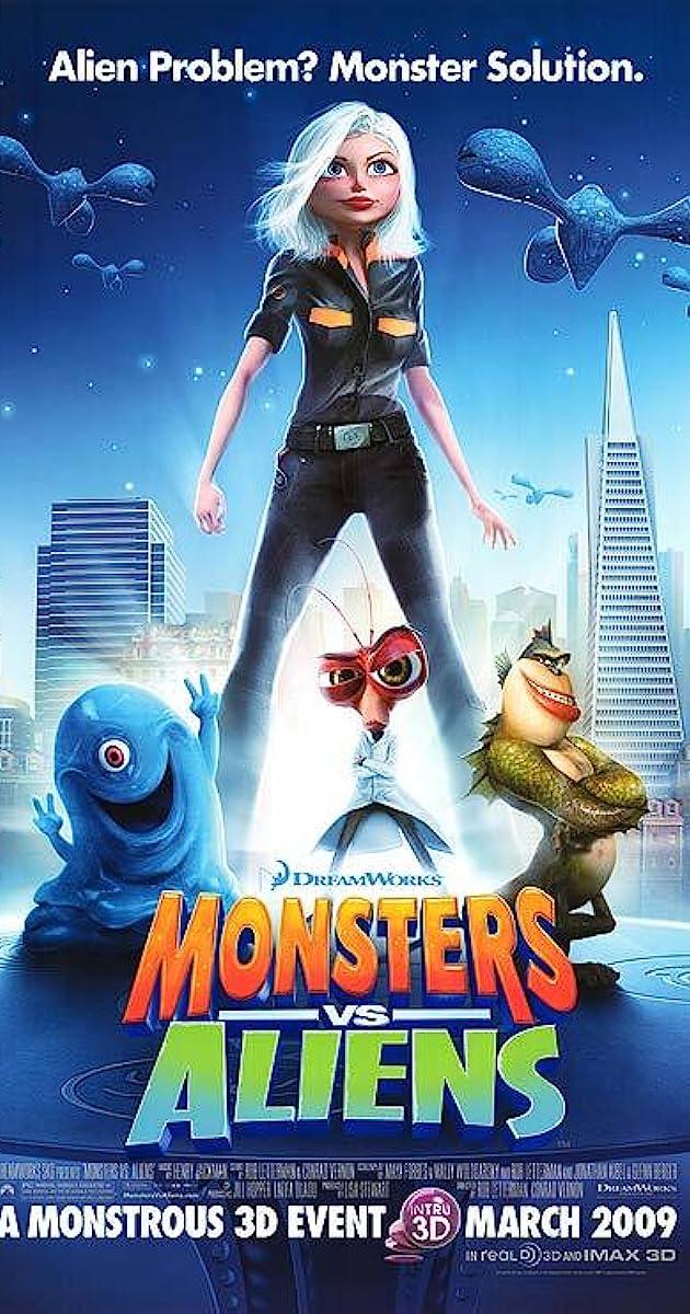 Monsters vs. Aliens (2009) Bluray 720p 1080p