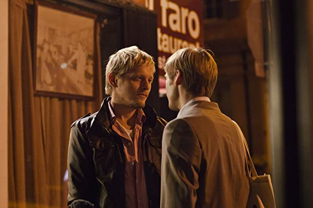 Thure Lindhardt and Zachary Booth in Keep the Lights On (2012)