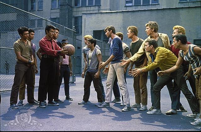 George Chakiris, Eliot Feld, Tony Mordente, Tucker Smith, Russ Tamblyn, and David Winters in West Side Story (1961)