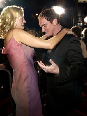 Quentin Tarantino and Uma Thurman at Kill Bill: Vol. 2 (2004)