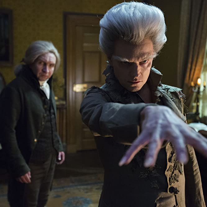 Eddie Marsan and Marc Warren in Jonathan Strange & Mr Norrell (2015)