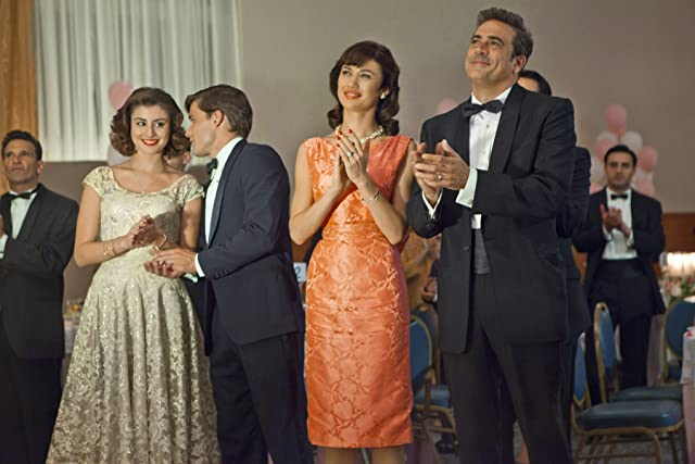 Christian Cooke, Dominik García-Lorido, Jeffrey Dean Morgan, and Olga Kurylenko in Magic City (2012)