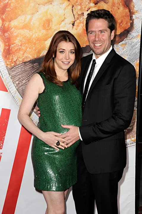 Alyson Hannigan and Alexis Denisof at an event for American Reunion (2012)