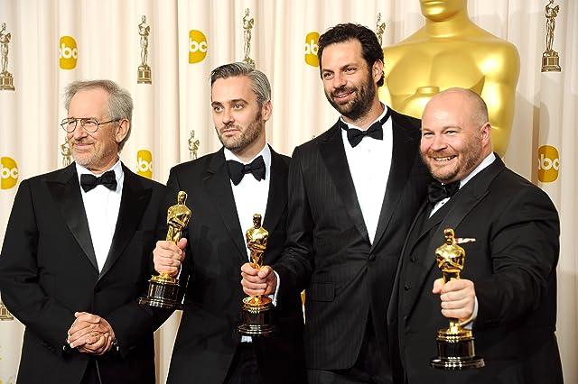 Steven Spielberg, Emile Sherman, Gareth Unwin and Iain Canning