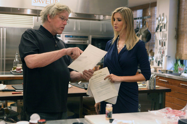 Gary Busey and Ivanka Trump in The Apprentice (2004)