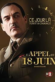 L'appel du 18 juin Poster
