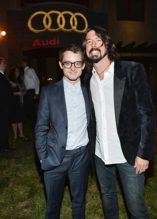 Elijah Wood and Dave Grohl