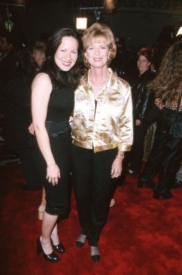 Linda Lee Cadwell and Shannon Lee at an event for Romeo Must Die (2000)