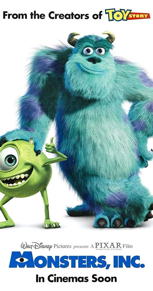 Monstrų biuras / Monsters, Inc. (2001) Online