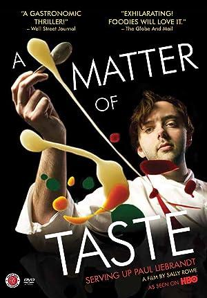 A Matter of Taste: Serving Up Paul Liebrandt (2011)