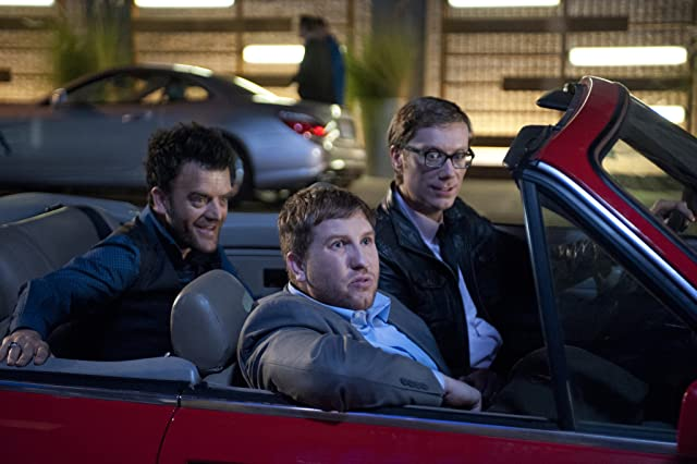 Stephen Merchant, Kevin Weisman, and Nate Torrence in Hello Ladies (2013)