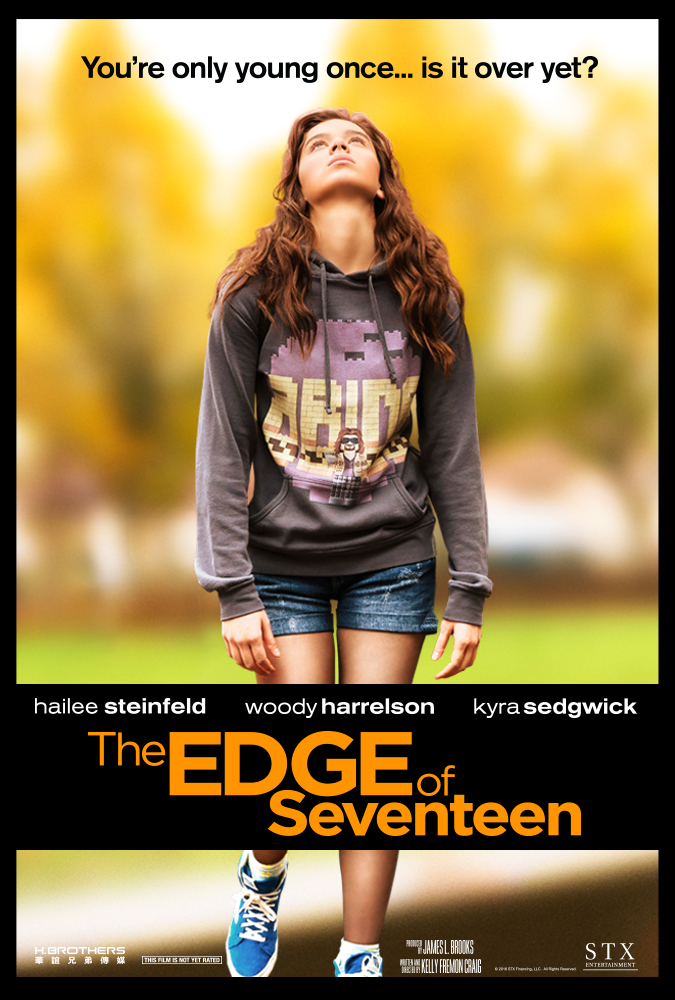 The Edge of Seventeen 2016 720p BluRay 600MB