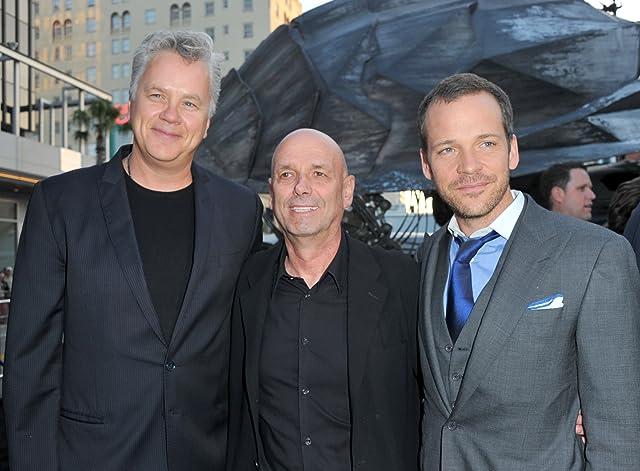 Tim Robbins, Martin Campbell, and Peter Sarsgaard at Green Lantern (2011)
