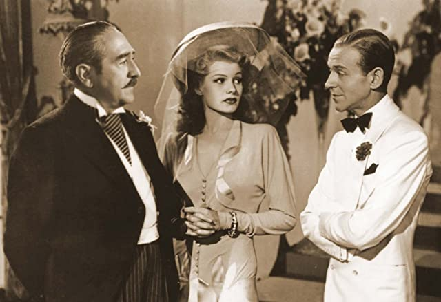 Fred Astaire, Rita Hayworth, and Adolphe Menjou in You Were Never Lovelier (1942)